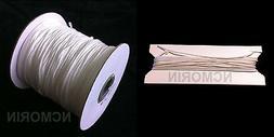 0.9mm - White Cord - 25ft -- 50ft -- 100ft -- 300ft - Window
