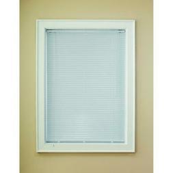 Levolor 1-in White Aluminum Room Darkening Mini-Blinds Actua