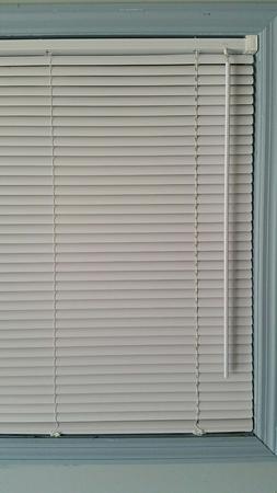 """1"""" Light Filtering Mini Blind 35"""" x 64"""" - White"""