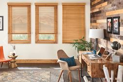 """Bali 1"""" Northern Heights Wood Blinds Maple 23 3/4"""" x 37 7/8"""""""