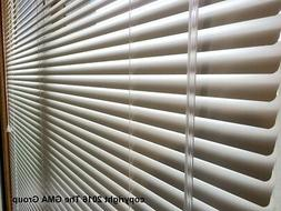 "1"" Premium Aluminum Mini Blinds 23-25"" Wide by 34""-37"" Long"