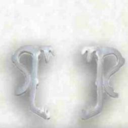 "18 QTY: 1"" Mini Blind Single Slat Valance Retainer Clips"