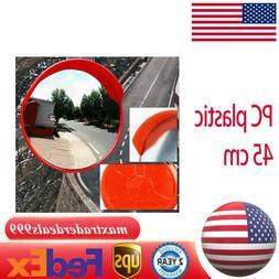 18inch Convex Wide Angle Mirror Road Traffic Blind Spot Secu