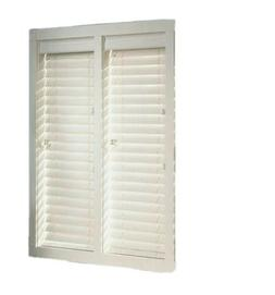 BALI 2 in. Premium White Faux Wood Blinds