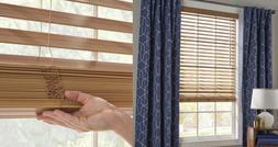 2 inch Faux Wood Blinds Window Horizontal Covering Oak, All