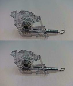 "2 PACK HEAVY DUTY Low Profile Wand Tilt Mechanism for 2"" Bli"