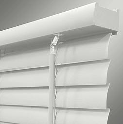 """Richfield Studio 2"""" Room Darkening Window Blind 35x64 White"""