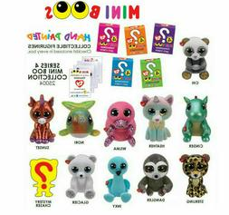 2019 TY Mini Boo SERIES 4 Collectible Hand Painted Vinyl Fig
