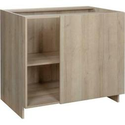 "38"" Organic Knockdown Blind Corner Base Cabinet"