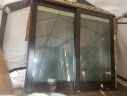 pella 750 designer series sliding doors mahogany wood with b
