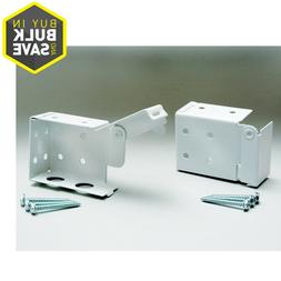 8-PCS Metal Valance Brackets Blind Window Shade Stainless St