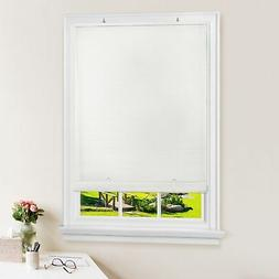 Achim Importing Co. Cordless Solstice Vinyl Roll-Up Blind-Wh
