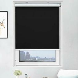 Acholo Blackout Roller Shades Cordless Window Blinds W35 x H