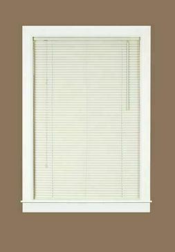 "ALABASTER PVC Non - Leaded 1 Inch Window Mini Blind Size 71"""
