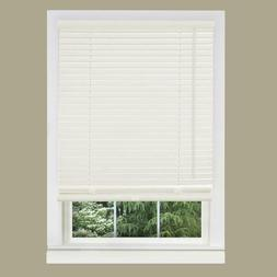 """Alabaster Vinyl 1 Inch Window Mini Blind Size 27"""" Wide x 64"""""""