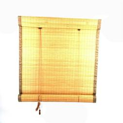 """Bamboo Roll Up Window Blind Sun Shade 70.8"""" x 35.4"""" For Indo"""
