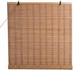 Bamboo Roll Up Window Blind Sun Shade, Light Filtering Rolle