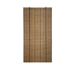 ALEKO BBL36X64BR Light Brown Bamboo Roman Wooden Roll Up Bli