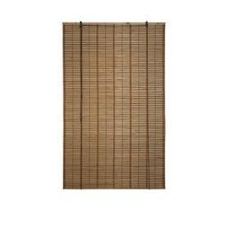 ALEKO BBL39X64BR Light Brown Bamboo Roman Wooden Roll Up Bli
