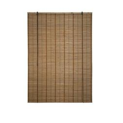 ALEKO BBL46X64BR Light Brown Bamboo Roman Wooden Roll Up Bli