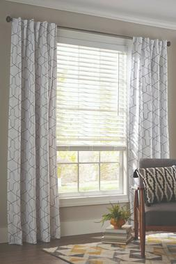 "Better Homes and Garden 2"" Faux Wood Cordless Blind, White,"