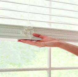 """Better Homes & Gardens 2"""" Faux Wood Cordless Blinds, White 3"""