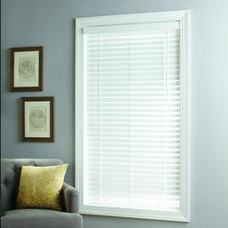 Better Homes & Gardens 2-inch Cordless Faux Wood Blinds, Whi
