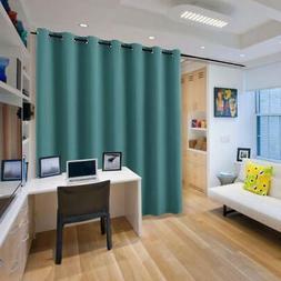 Blackout Patio Door Curtain Grommet Vertical Blind Drapes fo