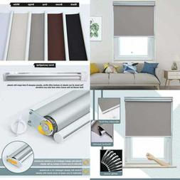 Blackout Roller Shades Window & Cordless Blinds For Home Off