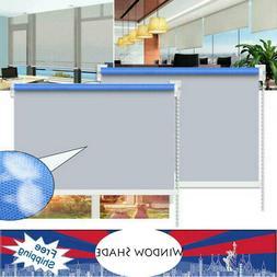 Blackout Window Blind Quality Roller Blinds 100x210cm 100% P
