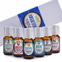 Healing Solutions Best Blends Essential Oil Set