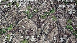 "Camo Mesh Leaf Fabric HTC Spring True Timber 59"" Deer Blind"