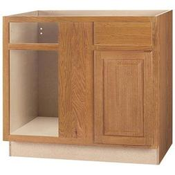 RSI HOME PRODUCTS SALES CBKBBC45-MO Medium Oak Finish Assemb