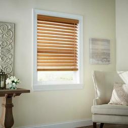 """Home Decorators Collection Chestnut 2.5"""" Premium Faux Wood B"""