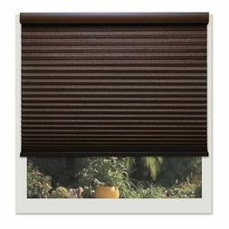 Linen Avenue Custom Cordless 54- to 55-inch Wide Chocolate