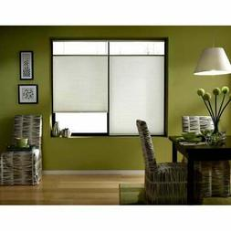 First Rate Blinds Cool White 56-56.5-inch Cordless Top Down