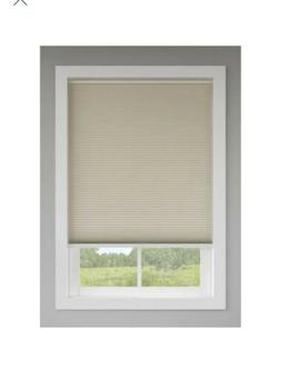 "Levolor Cordless Cellular Room Darkening Blinds Sand48"" X"