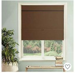 Chicology Cordless Magnetic Roman Shades Window Blind Fabric