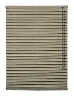 CORDLESS MOCHA Aluminum Horizontal 1 Inch Mini Blind Choose