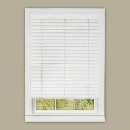 "Cordless Window Blind 2"" Vinyl Plantation Blinds Embossed Gr"