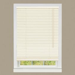 "Cordless Window Mini Blinds 1"" Slats Room Darkening Alabaste"
