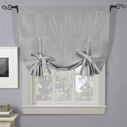 Decorative Soho Tie Up Shade Triple-Pass Blackout Curtain Ro
