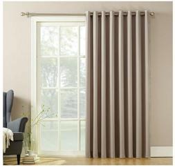 Door Curtain Panel Sliding Glass Patio Blinds Blackout Pull
