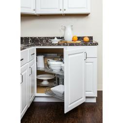 Door Mounted Blind Corner kitchen Cabinet Organizer pullout