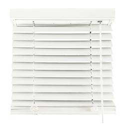 AIDA Faux Wood Blinds 2'' inch Cordless Horizontal Window Bl