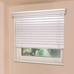 Fauxwood Impressions 72002650 26.5-Inch by 72-Inch Window Bl