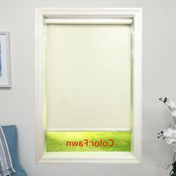 Fawn Roller Shade 4ply Vinyl Blackout Blind  Home Window Cus
