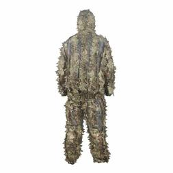 Ghillie Suit Hunting Blinds Outdoor Camo Military Leaf Hunti