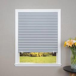 Redi Shade Gray Paper Room Darkening Window Blind Shade 36 W