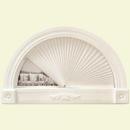 Half Round Arch Window Shade Blind Shades Easy Peel & Place